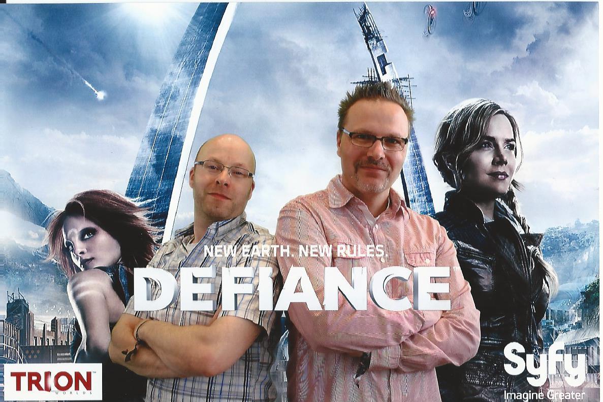 Markus und Sascha Defiance