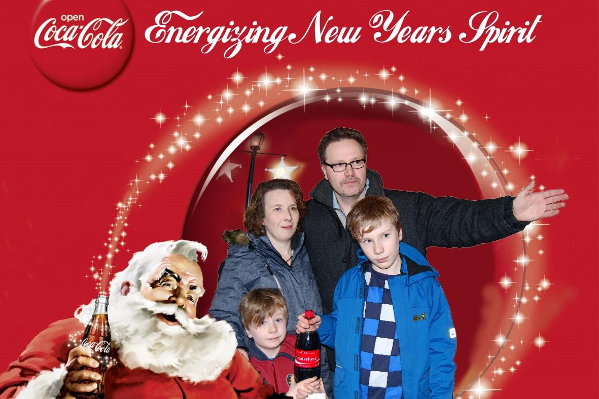 Neujahrsgruß 2013 - Coca Cola Family