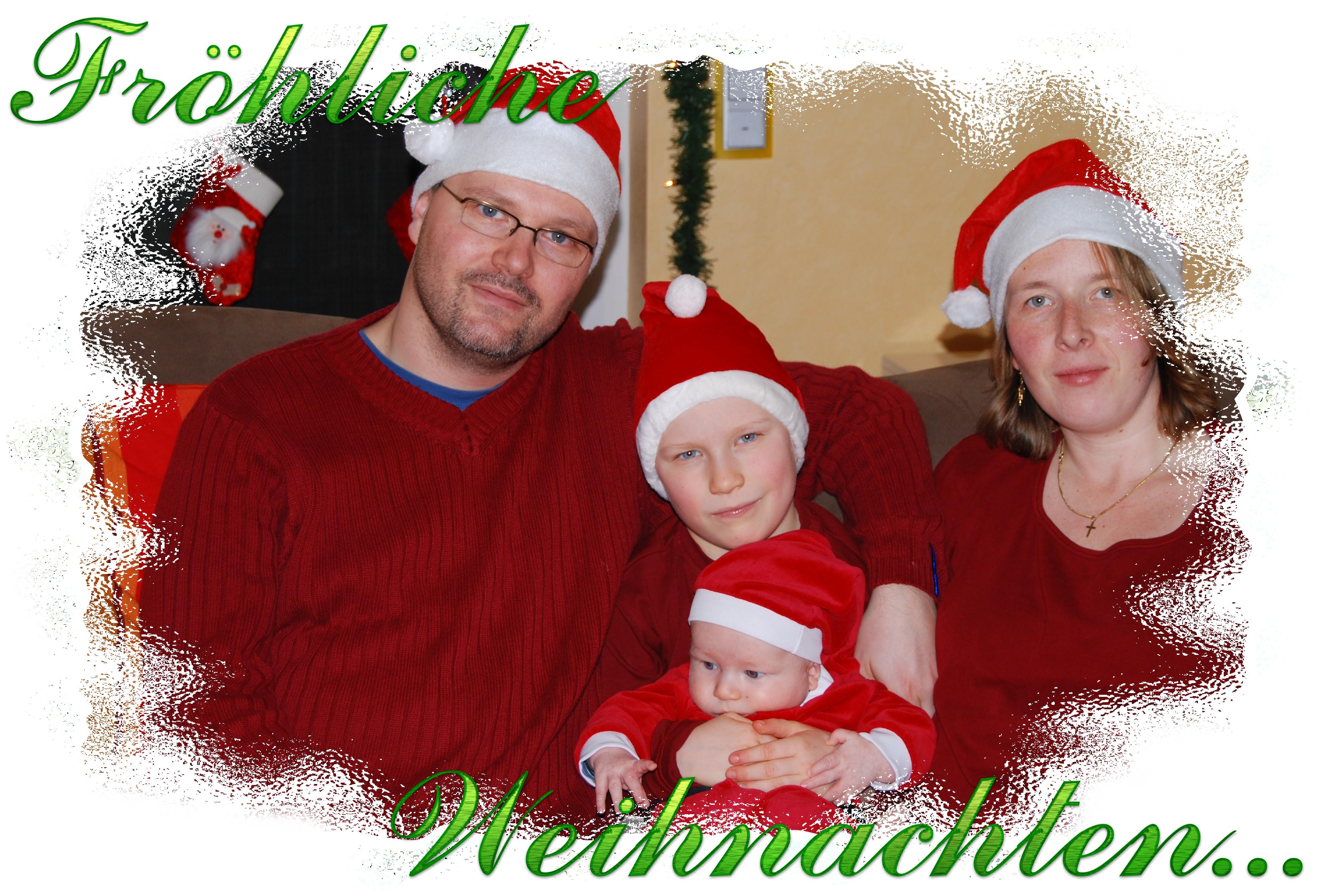 Weihnachtsgruß 2007 - First Time